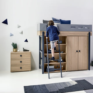 kleiderschr nke regale f r kinderzimmer online kaufen kidswoodlove. Black Bedroom Furniture Sets. Home Design Ideas