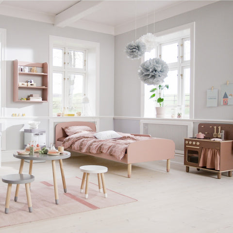 "Flexa PLAY Kinderbett (90x200) ""Light Rose"" mit Matratze (ab 4 Jahre)"