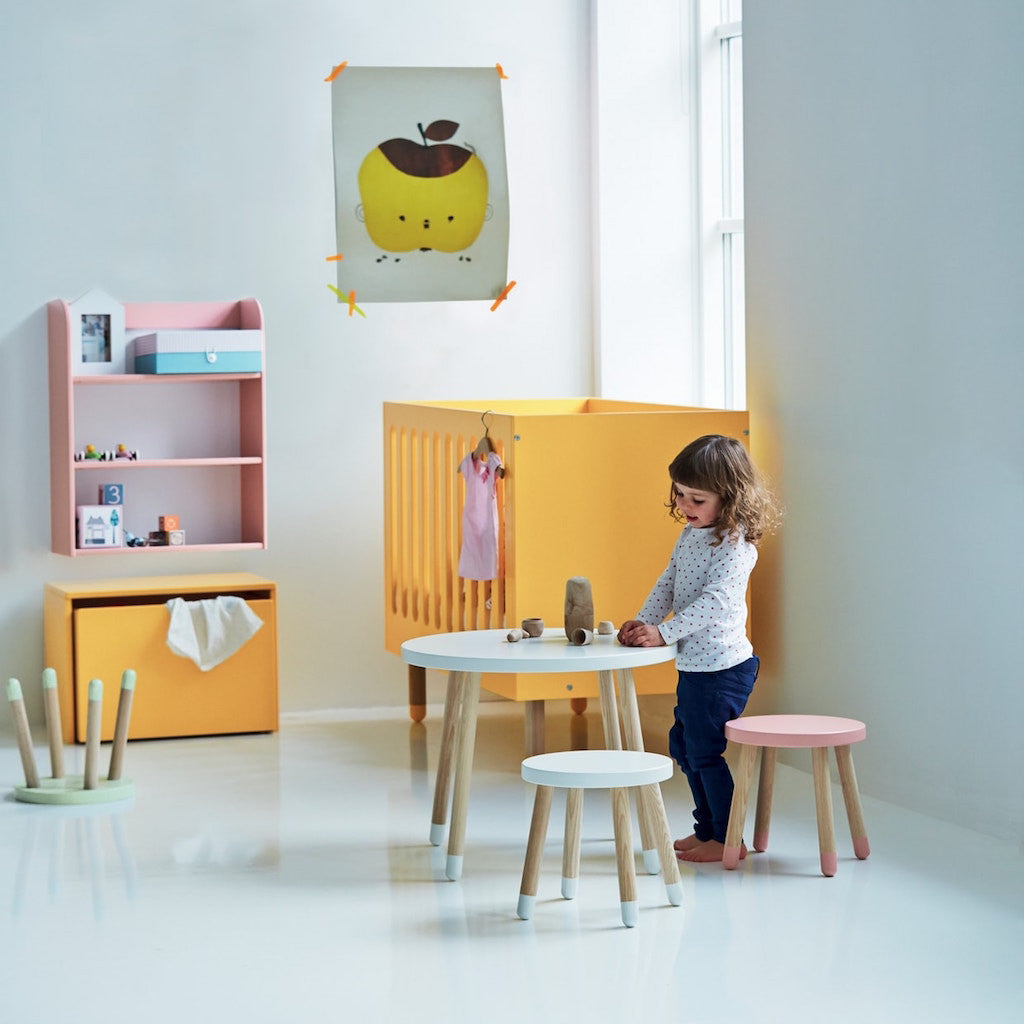 Flexa Kindertisch PLAY in weiß bei KidsWoodLove