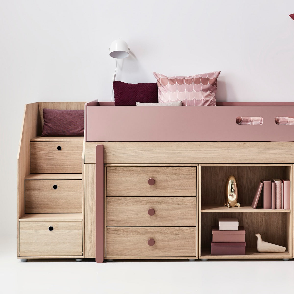 flexa kommode popsicle aus holz in rosa online kaufen. Black Bedroom Furniture Sets. Home Design Ideas
