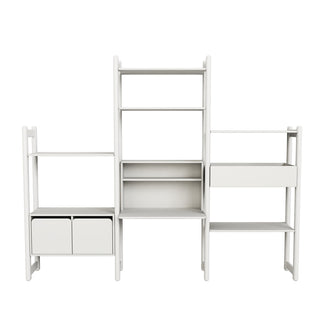 "Flexa Shelfie Regal ""Combi 8"" in weiß"