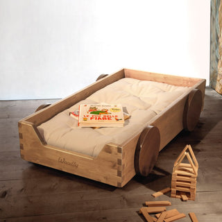 Woodly Classic Flurbett - Kinderbett in Natural Stained - KidsWoodLove