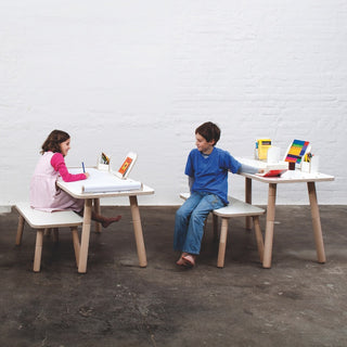 Growing Table Kindertisch in weiss von Pure Position - KidsWoodLove - 5