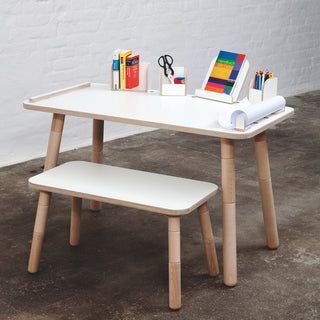 Growing Table Kindertisch mit Stühlen von Pure Position - KidsWoodLove  - 1