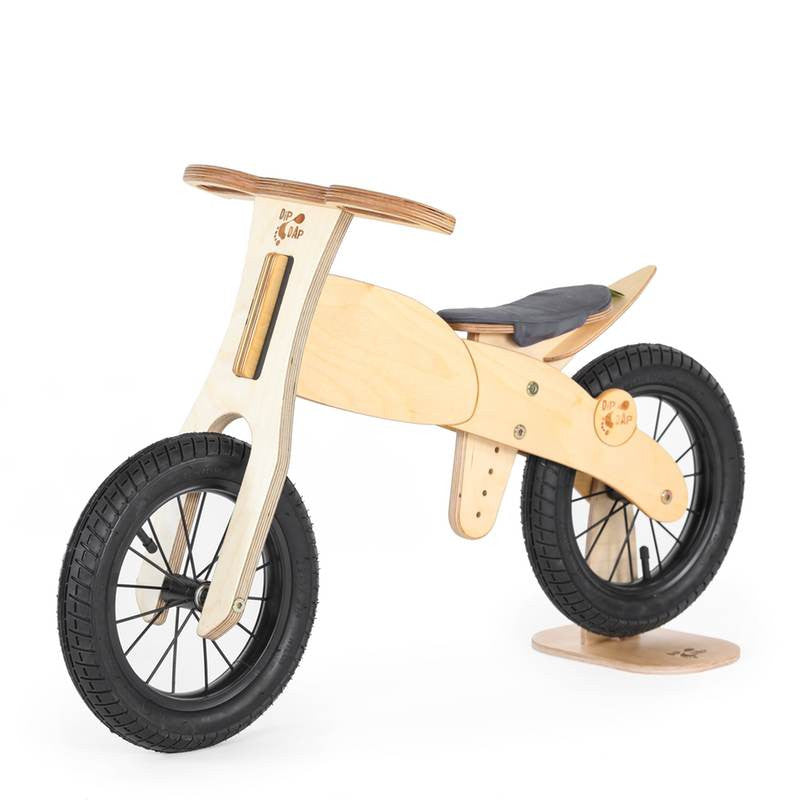 DipDap Laufrad aus Holz ´´Motorbike´´, 12 Zoll ...
