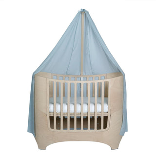 Leander Betthimmel für Babybett in misty blue