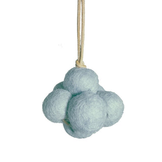 Loullou Spielbogen-Mobile Baby Cloud in blau