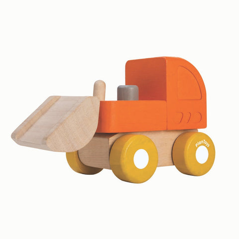 "Plantoys ""Mini Bulldozer"" Holzauto (ab 12 Monate)"