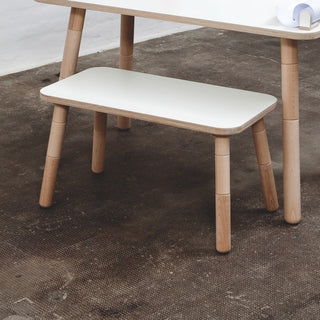 Pure Position Sitzbank für Kindertisch Growing Table in weiss bei KidsWoodLove