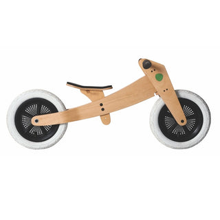 Wishbone Bike 3-in-1 Laufrad in Natur bei KidsWoodLove