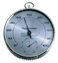 Hygrometer with Thermometer - The Science Shop