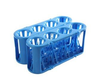Adapt-a-Rack ~ Flexible Multi-Tube Rack (Test Tube Rack) ~ Blue - The Science Shop