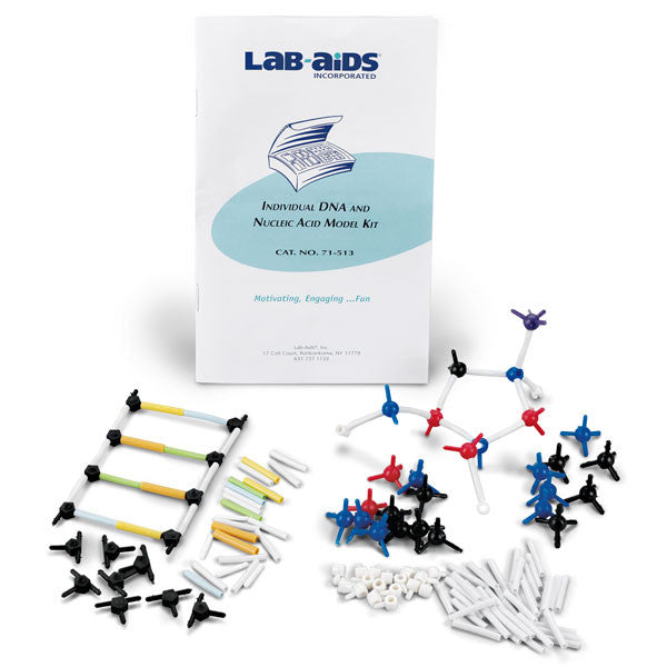 Individual DNA And Molecular Model Kit - The Science Shop - 1