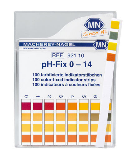 pH-Fix 0-14 Test Strips 100/pk - The Science Shop - 1