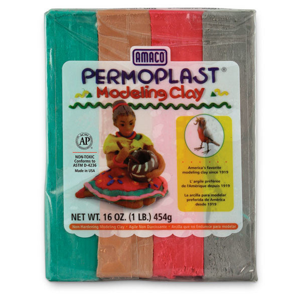 Permoplast; Modeling Clay (1lb) - The Science Shop - 1