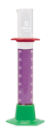 Graduated Cylinder - Glass (Student Grade) ~ 100mL - The Science Shop