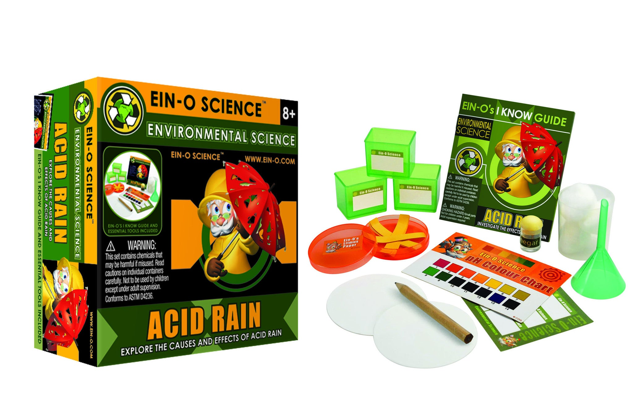 Acid Rain Kit - The Science Shop