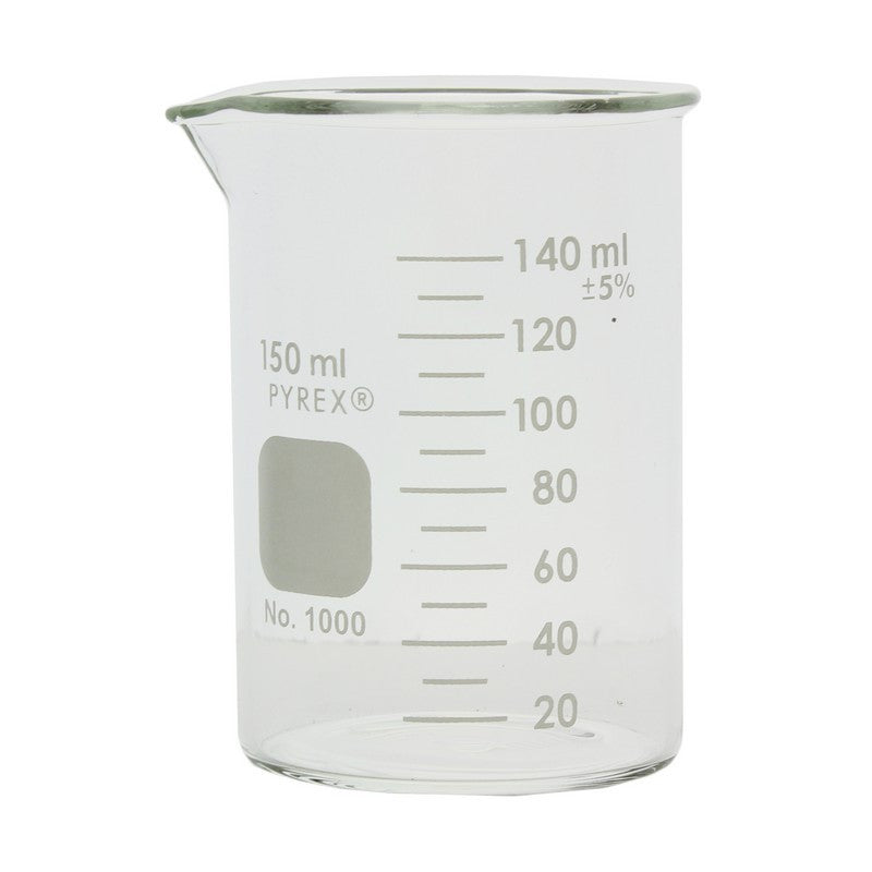 PYREX® 1000-150 Griffin Low Form 150mL Beaker, Graduated - The Science Shop