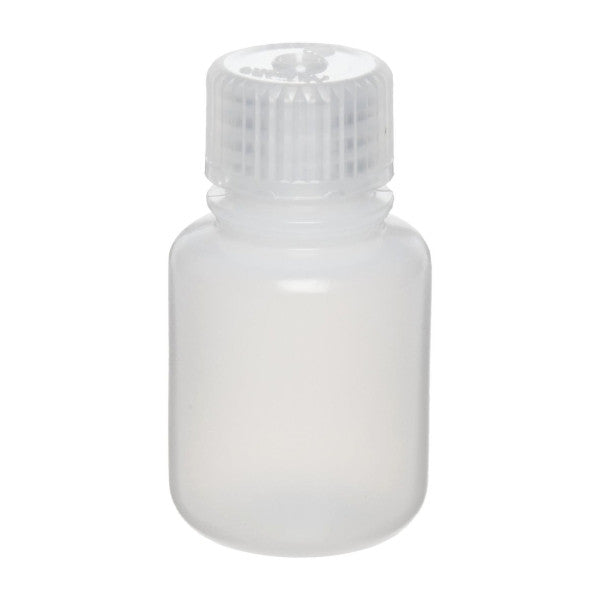 Nalgene HDPE Round Bottles ~ Narrow Mouth ~ 30mL (1 oz) - The Science Shop