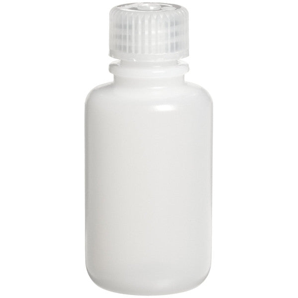 Nalgene HDPE Round Bottles ~ Narrow Mouth ~ 60mL (2 oz) - The Science Shop