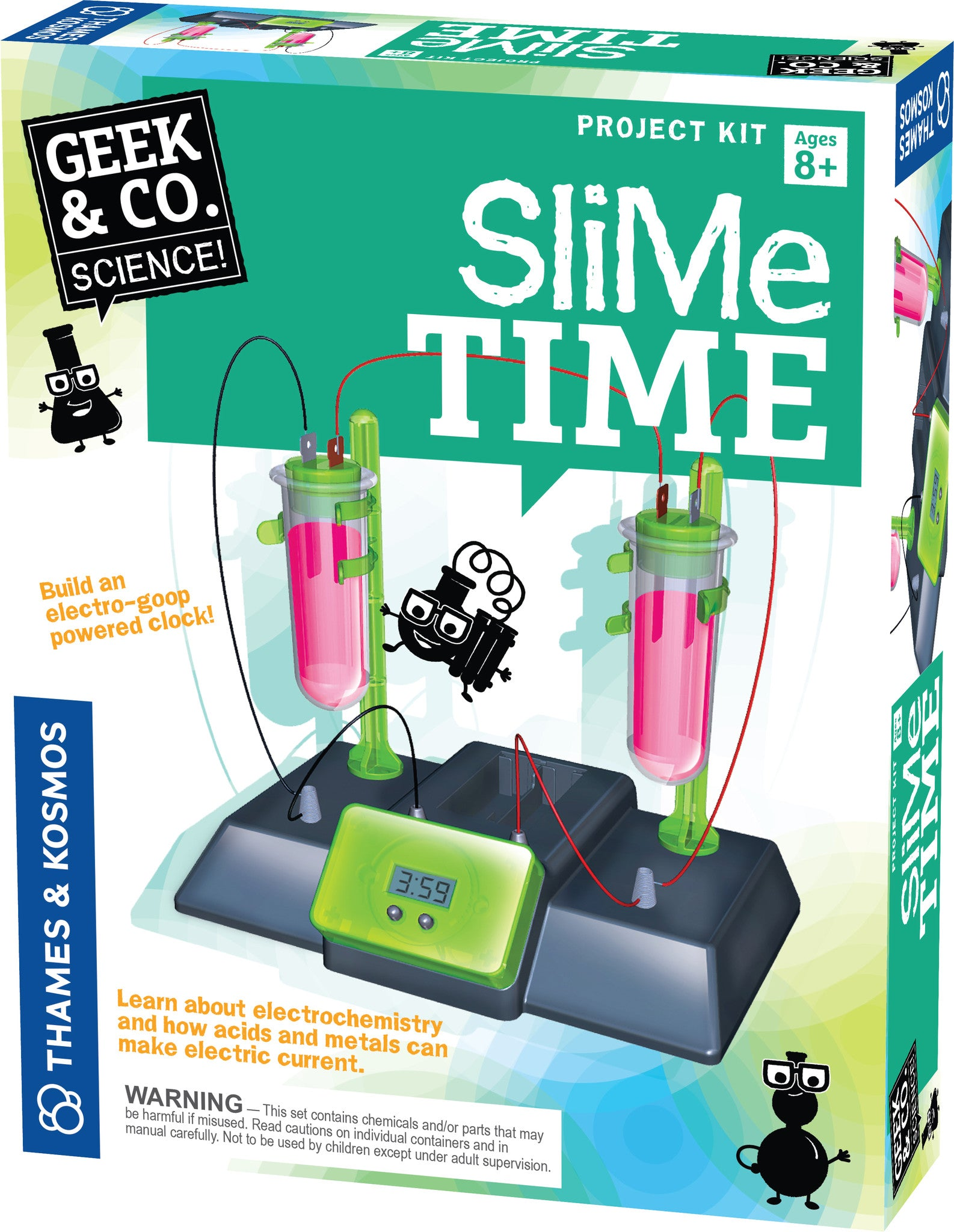 Thames & Kosmos ~ Slime Time - The Science Shop - 1