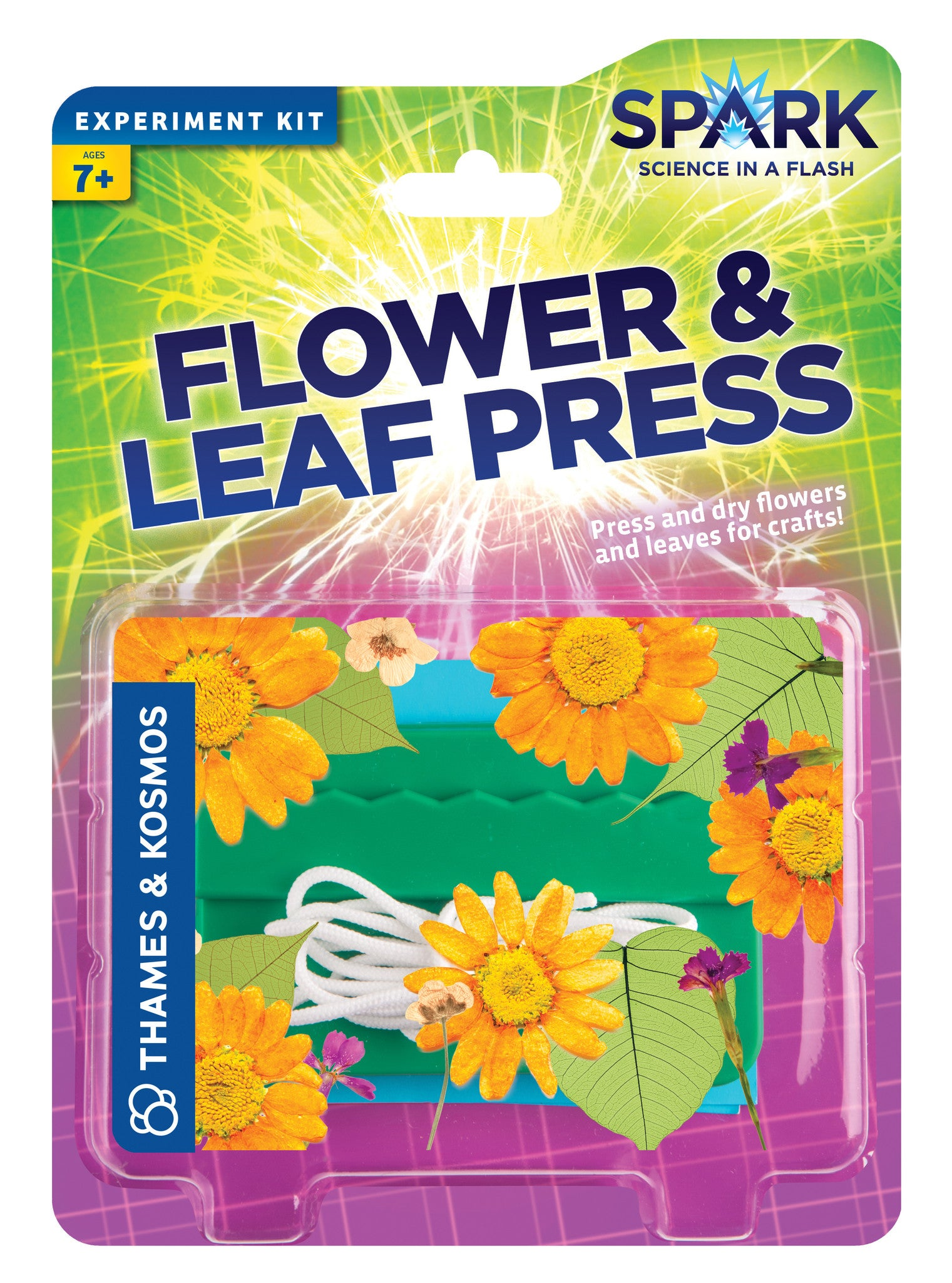Thames & Kosmos ~ Flower & Leaf Press - The Science Shop - 1