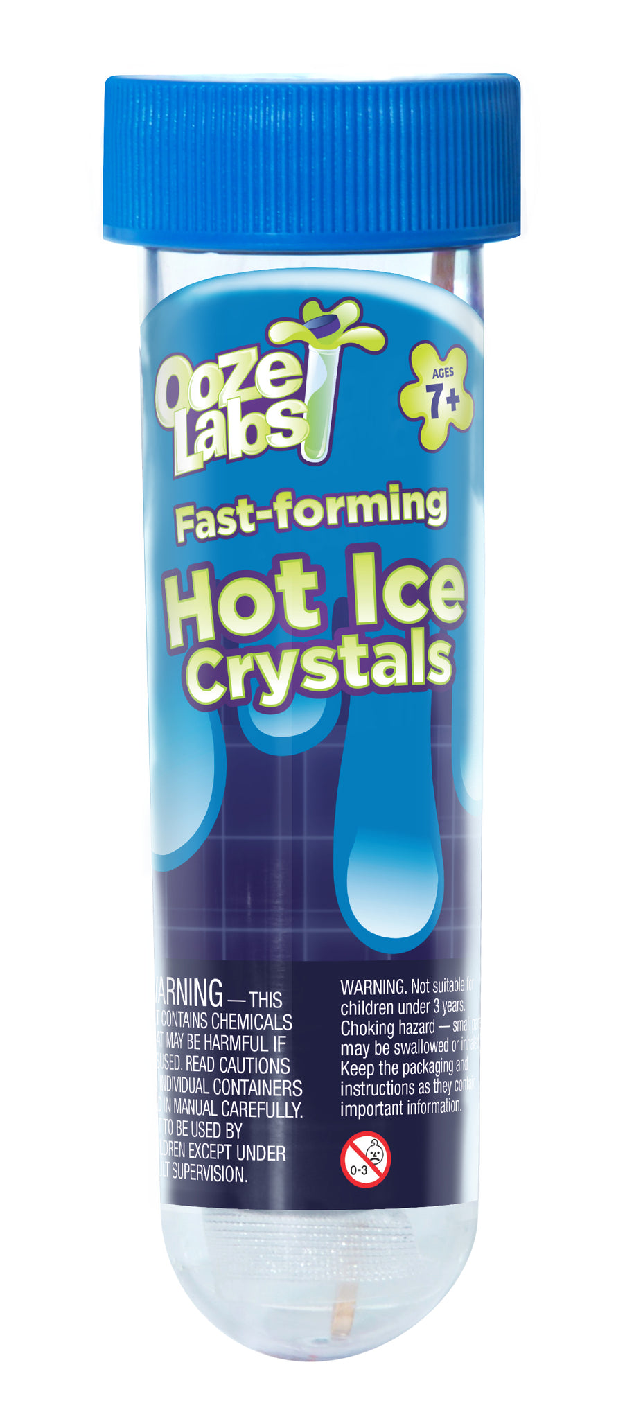 Ooze Lab 2: Hot Ice Crystals