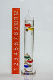 "Galileo Thermometer 13"" 64/80°F"