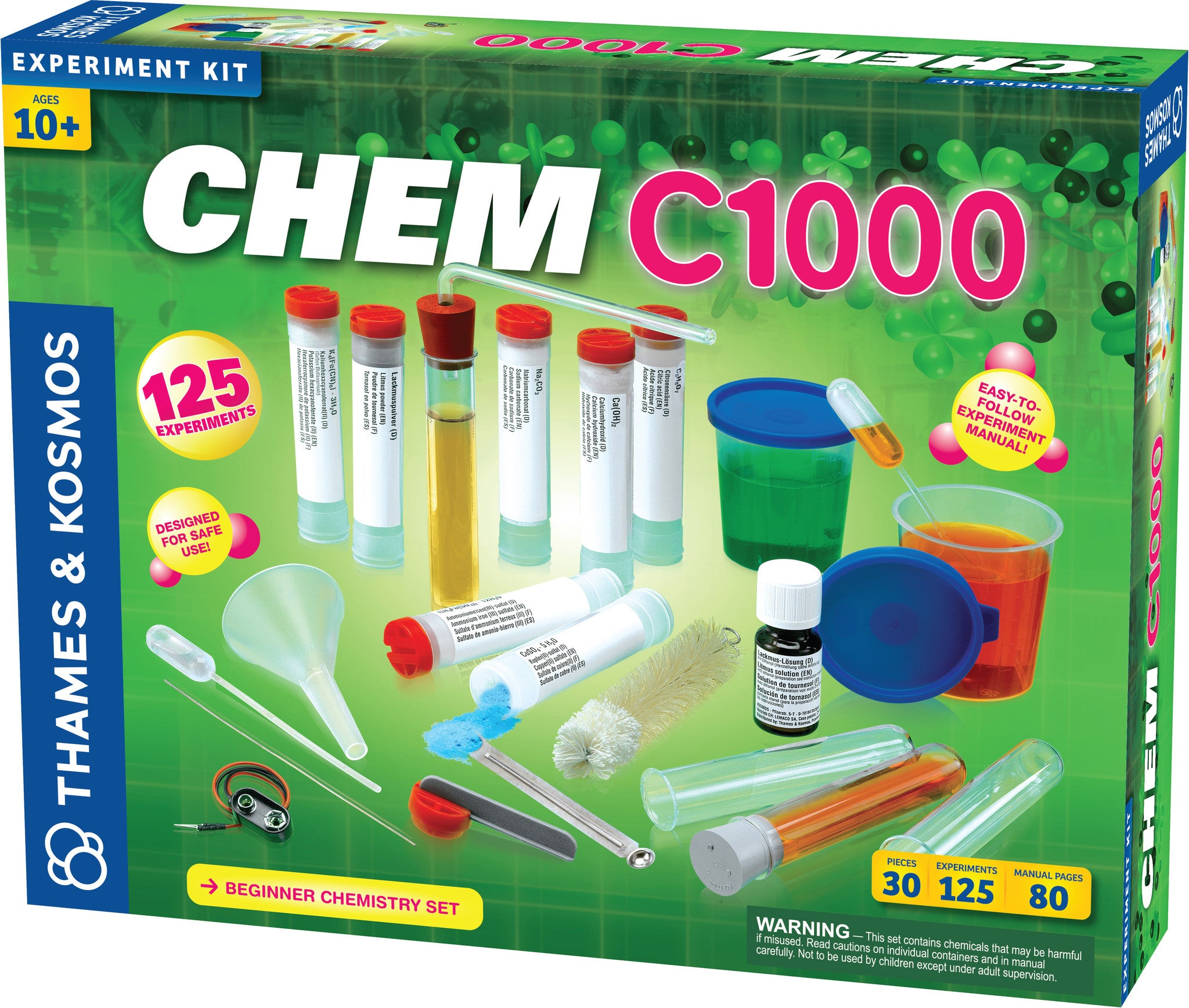 Thames & Kosmos ~ CHEM C1000 - The Science Shop - 1