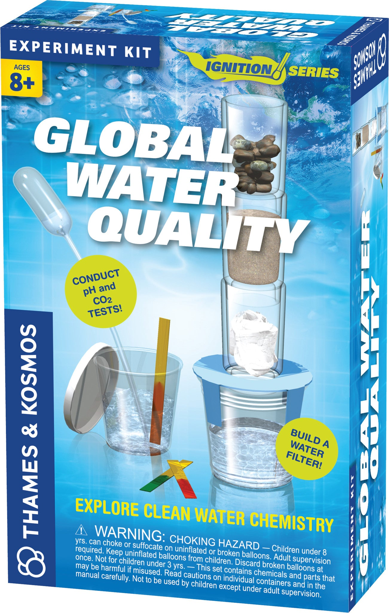 Thames & Kosmos ~ Global Water Quality - The Science Shop - 1