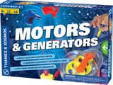 Thames & Kosmos ~ Motors & Generators - The Science Shop - 1