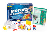 Thames & Kosmos ~ Motors & Generators - The Science Shop - 3