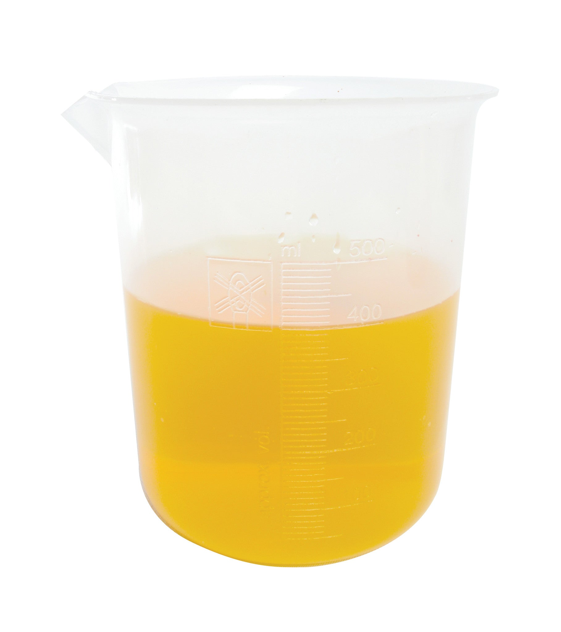 Polypropylene Graduated Beaker - 500 ml - The Science Shop