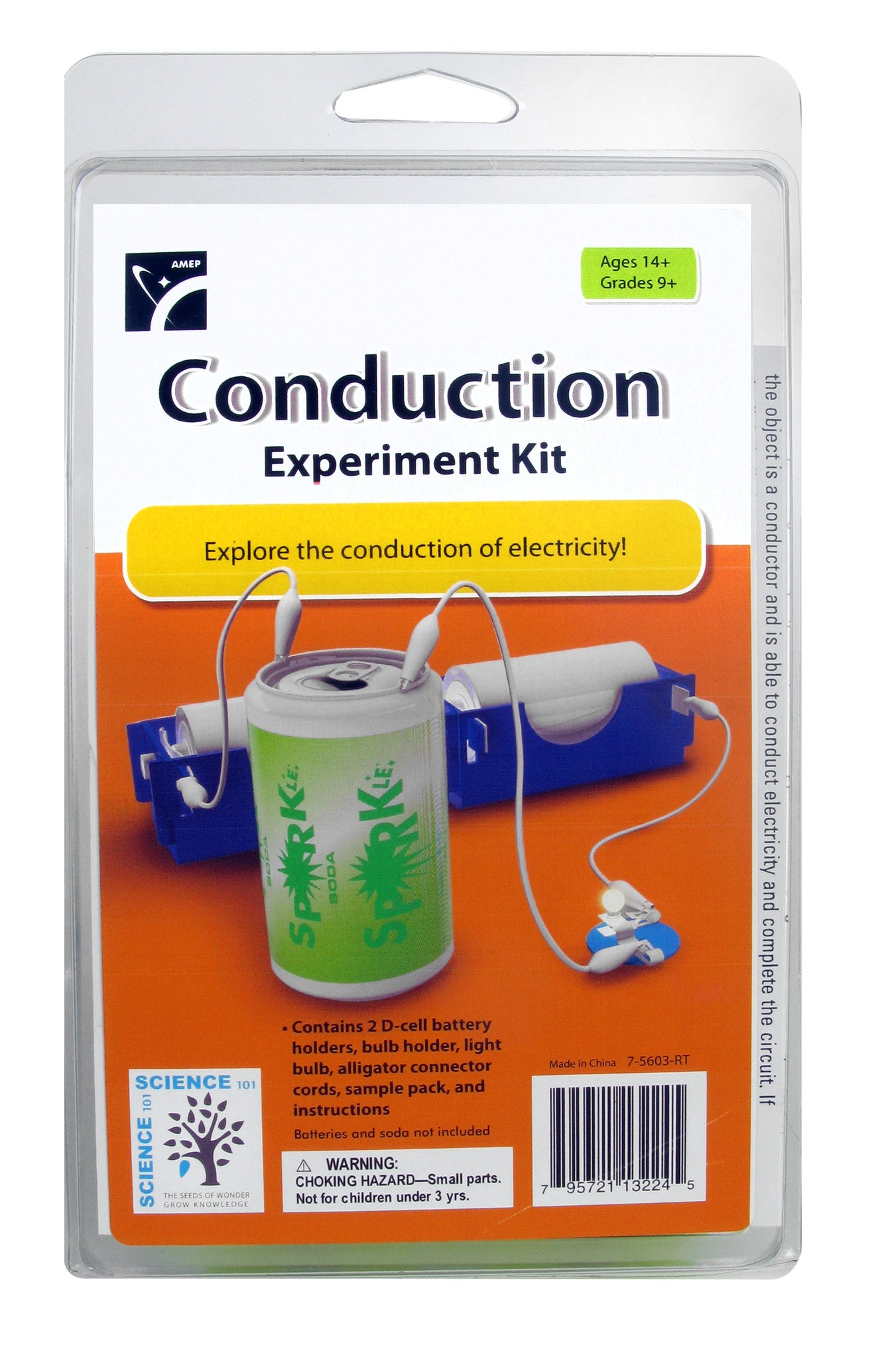 Conduction Experiment Kit - The Science Shop - 1