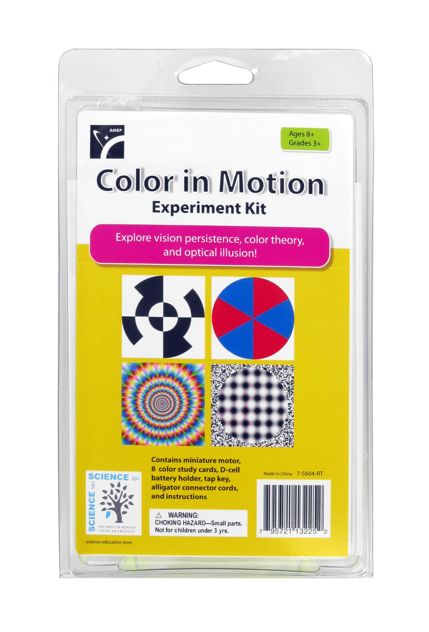 Color in Motion Experiment Kit - The Science Shop - 1