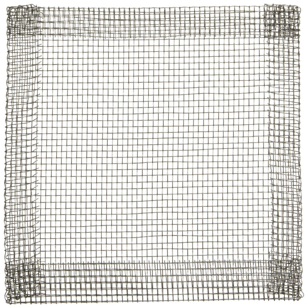 "Plain Tinned Iron Wire Gauze Square 5"" x 5"" - The Science Shop"