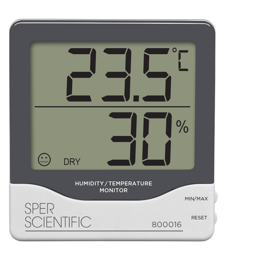 Hygrometer - Digital - The Science Shop