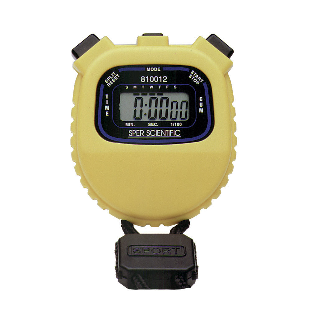 WATER RESISTANT STOPWATCH - The Science Shop