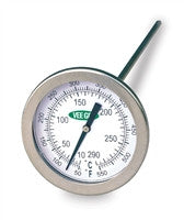 "2"" Dial Thermometer 10 to 290°C & 50 to 550°F - The Science Shop"