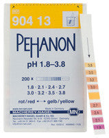 PEHANON® 1.8 - 3.8 pH Test Strips 100/pk