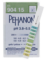 PEHANON® 3.8 - 5.5 pH Test Strips 100/pk - The Science Shop