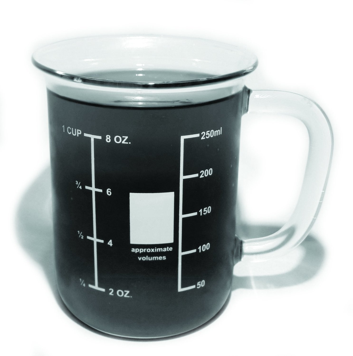 Glass Beaker Mug - 250mL - The Science Shop