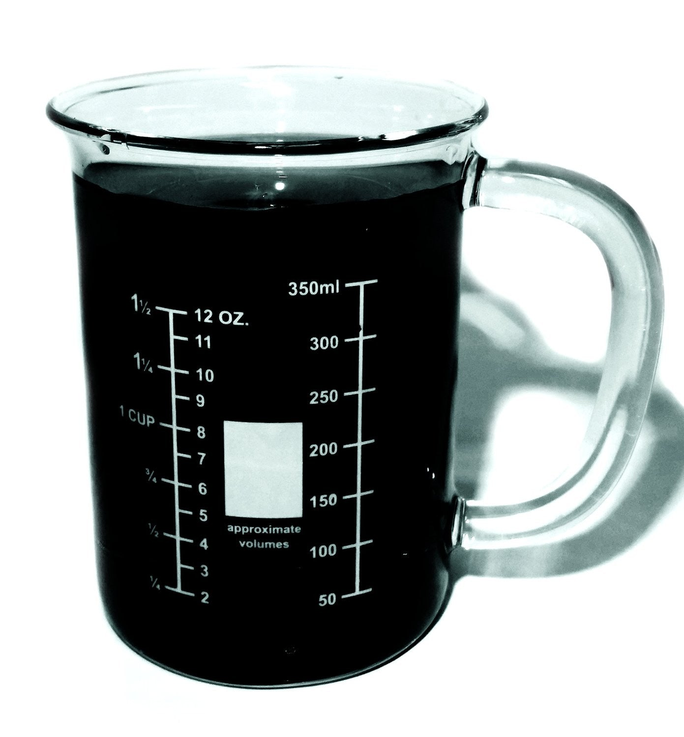Glass Beaker Mug - 400mL - The Science Shop