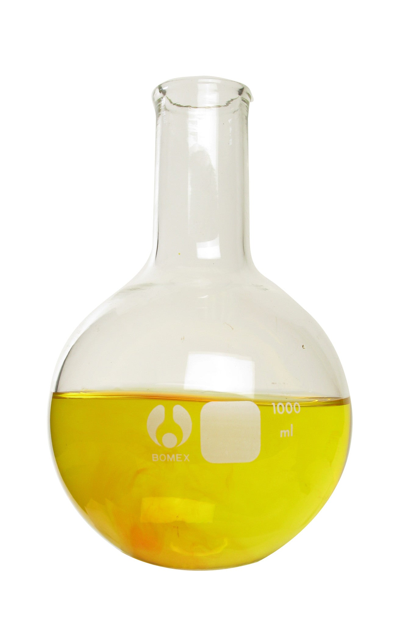 Bomex Round Bottom Boiling Flask ~ 1L (1000mL) - The Science Shop