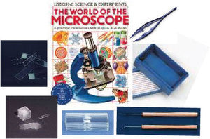 MICROSCOPE SLIDE KIT - The Science Shop - 1