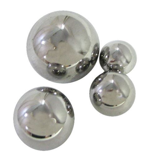 "13/16"" Steel Ball Bearings 10/pk - The Science Shop"