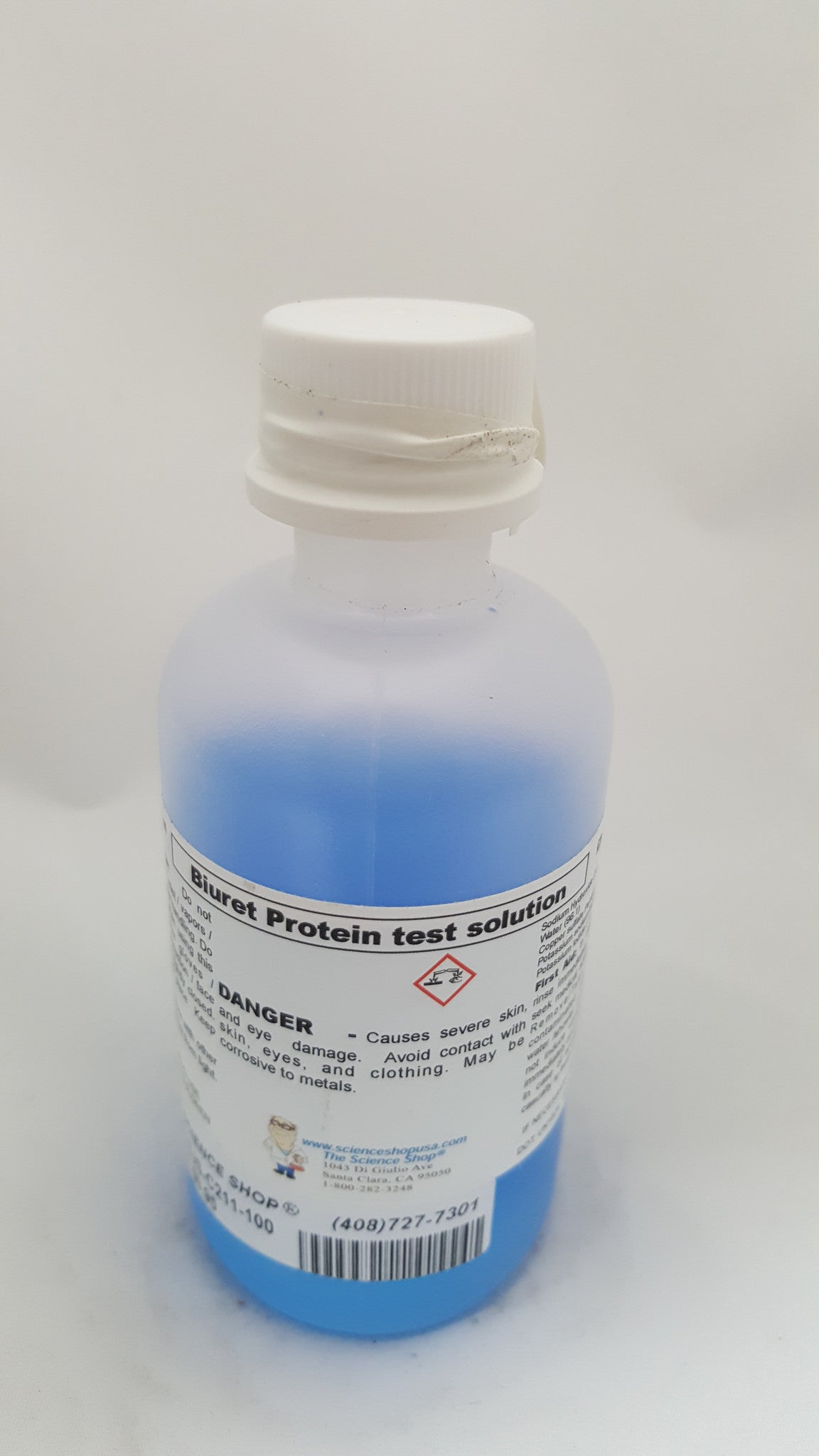 BIURET SOLUTION 100ML - The Science Shop