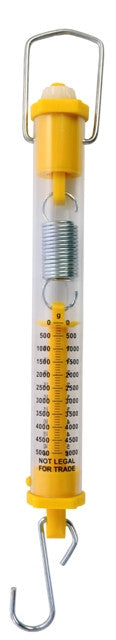 Dual-Calibration Spring Scale - 5,000 g/50 N - The Science Shop