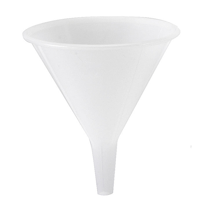 Funnel, Polypropylene ~ 8 oz. - The Science Shop