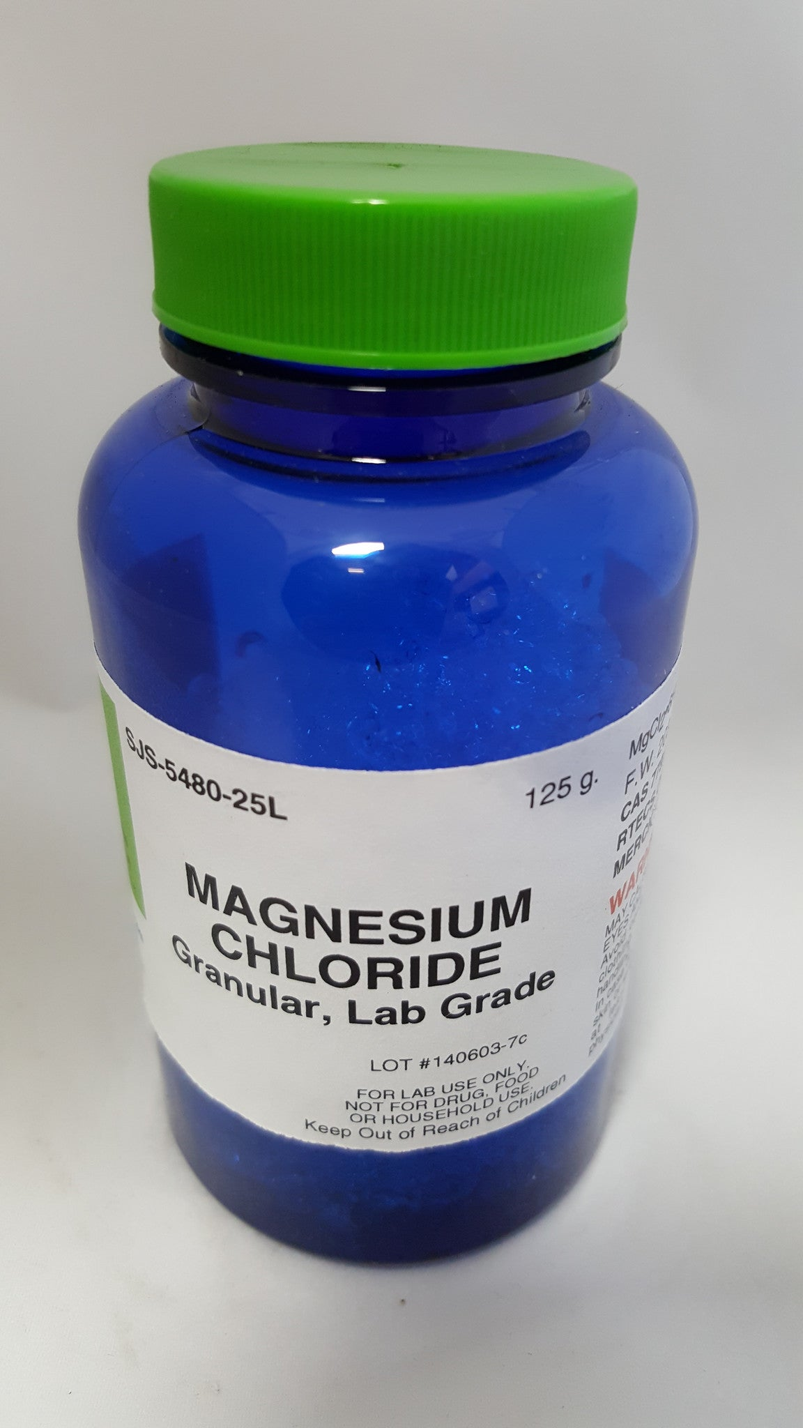 Magnesium Chloride 125g LG - The Science Shop